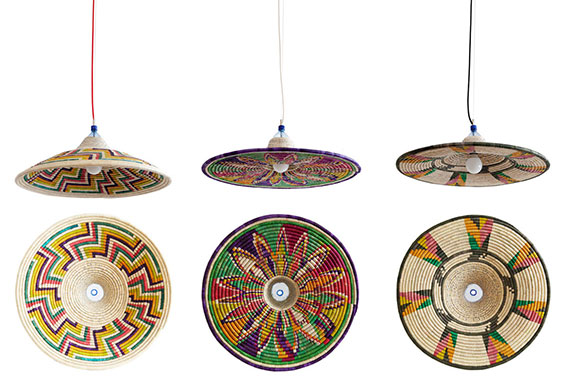 PET Lamp Abyssinia Single Lamps Inspired By Traditional Ethiopian Basket Weaving