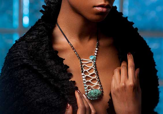 Shimmering Handmade Jewels By Senegalese Jewellery Designer Ngone Featured on Atelier Fifty Five