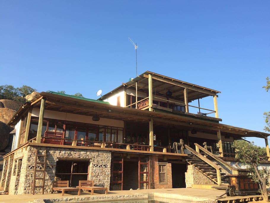 Khyetitshe-Weekend home Matopos Zimbabwe Africa Travel
