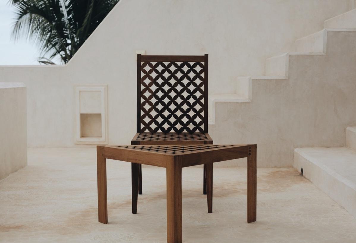 Moran Munyuthe Mashirbirya chair Made In Kenya