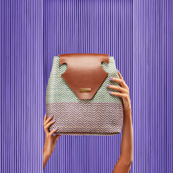 Torero Collection Sustainable Fashion Handbags Made in Egypt Upcycled Plastic Atelier Fifty Five