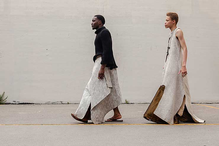 Nyorh Agwe There Is a king in you mens modern African fashion