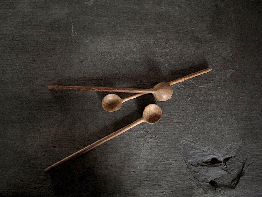 Textile Designer Kirsten Hecktermann Wooden Jam Spoons Hand Carved In Kenya Atelier Fifty Five