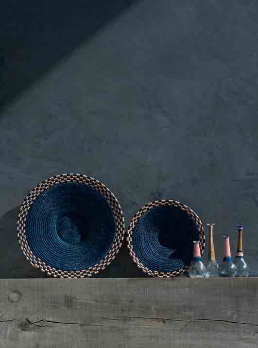 Otaga Design Baskets Feature on Atelier Fifty Five