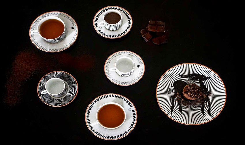 Fatyly Ceramics Toile de Korogho Porcelain Senegal design Atelier Fifty Five Feature