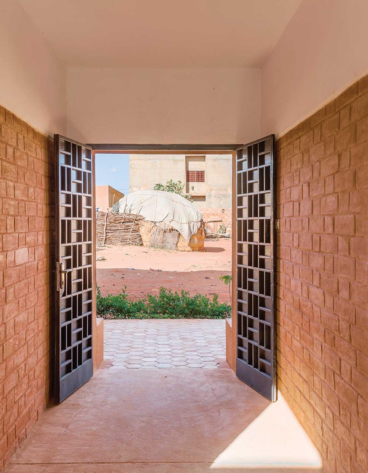 Entry passageway united 4 design Mariam Kamara Niger Architect African Architecture