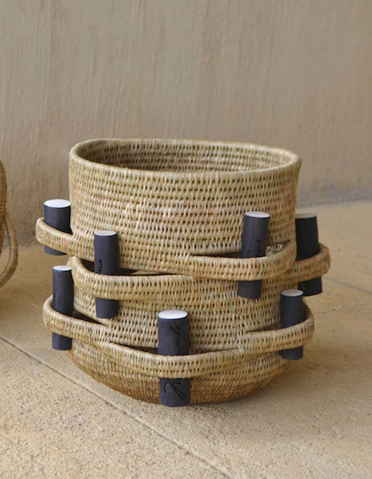 Woven Baskets Swaziland Gone Rural