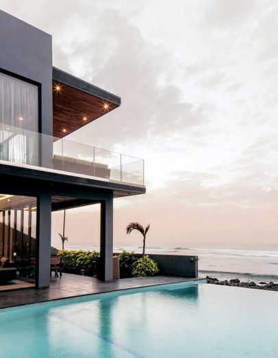 Kehinde Wiley Black Rock Senegal Artist Residence Exterior Balcony and Swimming Pool