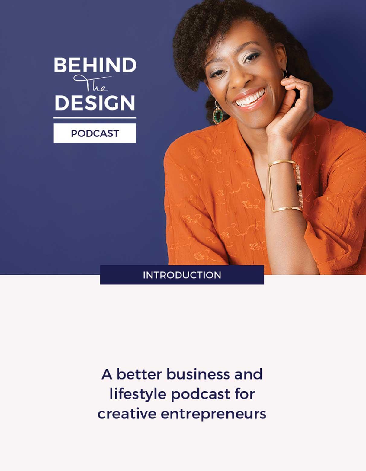 Behind The Design Podcast Hosted by Tapiwa Matsinde