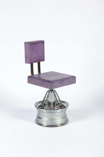 Chair [iii] Sculpture by Nigerian American artist Dozie Kanu